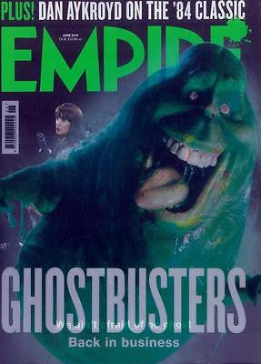 Empire Magazine June 2016 Ghostbusters TRAVIS FIMMEL SEBASTIAN STAN CHRIS EVANS