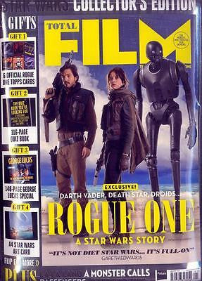 TOTAL FILM MAGAZINE JANUARY 2017 STAR WARS - ROUGE ONE - COLLECTORS EDITION