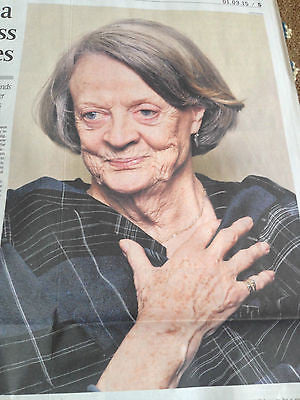 Maggie Smith Photo Interview March 2015