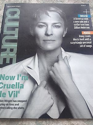 ROBIN WRIGHT interview LISA DWAN UK 1DAY ISSUE 2014 GILLIAN ANDERSON JENNY LEWIS