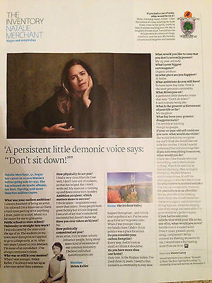 10,000 Maniacs NATALIE MERCHANT PHOTO INTERVIEW FT WEEKEND MAGAZINE OCTOBER 2015