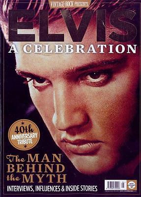 Elvis Presley Vintage Rock Presents - A Celebration 40 Years UK MAGAZINE NEW