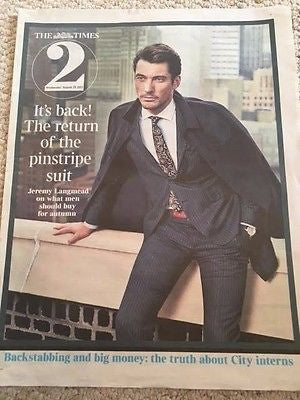 UK Times 2 August 28 2013 David Gandy cover