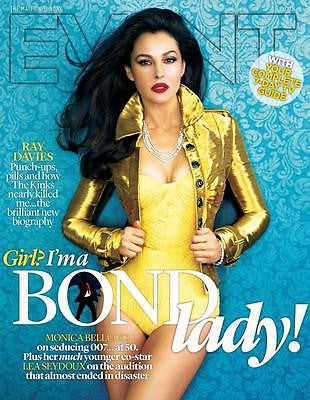 EVENT MAGAZINE FEBRUARY 2015 MONICA BELLUCCI JAMES BOND SPECTRE PHOTO COVER