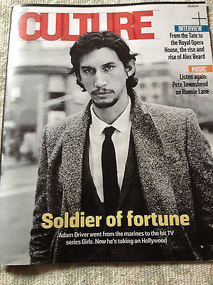 ADAM DRIVER interview GIRLS UK 1 DAY ISSUE 2014 BRAND NEW CULTURE MAGAZINE