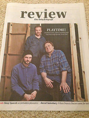 DAMIAN LEWIS inter/w TOM STURRIDGE sissy spacey ALAN RICKMAN UK 1DAY ISSUE 2015