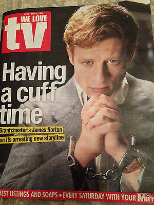 WE Love TV Magazine February 2016 Grantchester JAMES NORTON PHOTO INTERVIEW