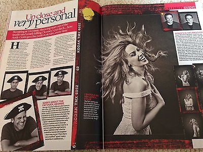 EVENT Magazine JULY 2016 KYLIE MINOGUE CAROLE KING SERGEI POLUNIN JOHNNY DEPP