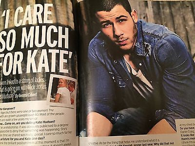 The Jonas Brothers NICK JONAS PHOTO INTERVIEW UK FABULOUS MAGAZINE February 2016