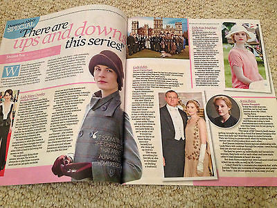 Downton Abbey special UK Mag JOANNE FROGGATT MICHELLE DOCKERY LAURA CARMICHAEL