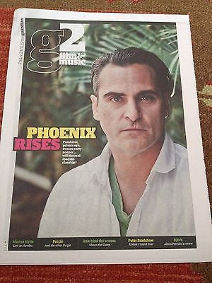 Inherent Vice JOAQUIN PHOENIX PHOTO COVER INTERVIEW 2015 NATALIE PRASS BJORK