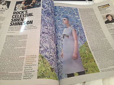 INDEPENDENT RADAR MAGAZINE MARCH 1 2014 ST VINCENT JUDI DENCH MATT MONDANILE