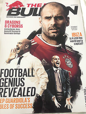 UK RED BULLETIN - PEP GUARDOLA - BAYERN MUNICH - EMILIA CLARKE - DANIEL KVYAT