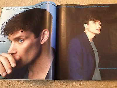 Peaky Blinders CILLIAN MURPHY PHOTO COVER INTERVIEW GUARDIAN MAGAZINE APRIL 2016