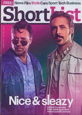 RUSSELL CROWE - RYAN GOSLING UK SHORTLIST magazine May 2016