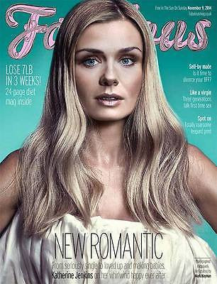 KATHERINE JENKINS PHOTO COVER INTERVIEW 2014 FABULOUS MAGAZINE ED SHEERAN