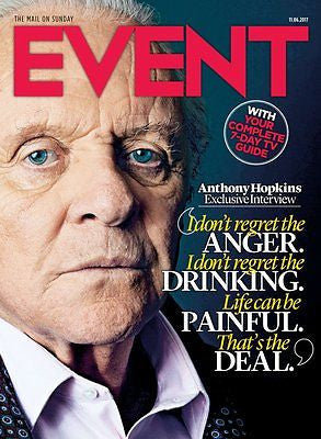 UK Event Magazine June 2017 Sir Anthony Hopkins Diane Keaton Neil Sedaka