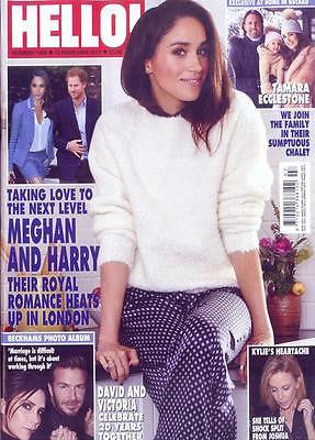 Hello! magazine - February 2017 Prince Harry Meghan Markle Jamie Dornan Kylie