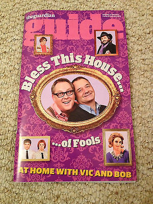 Guide Magazine February 2015 Vic Reeves & Bob Mortimer Sarah Snook Michael Mann