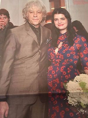 Pixie BOB GELDOF PHOTO INTERVIEW NOVEMBER 2016 EDDIE REDMAYNE ROBBIE WILLIAMS