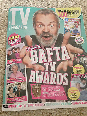 UK TV MAGAZINE - GRAHAM NORTON - RUTH WILSON - MARTIN CLUNES - MATT LEBLANC