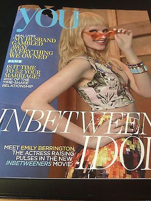 24 EMILY BERRINGTON Photo Cover interview YOU MAGAZINE July 2014 PENELOPE CRUZ