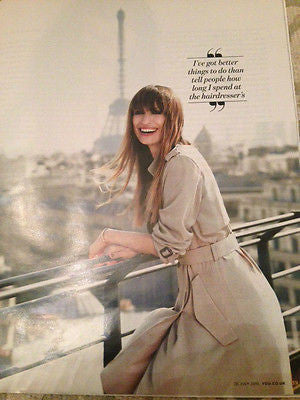 YOU MAGAZINE JULY 2015 KATE MARA CAROLINE DE MAIGRET LUCY BOYNTON JOAN RIVERS