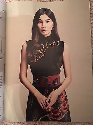 (UK) STELLA MAGAZINE OCTOBER 2016 Humans GEMMA CHAN PHOTO COVER INTERVIEW
