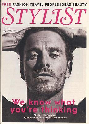 MICHAEL FASSBENDER PHOTO COVER INTERVIEW STYLIST MAGAZINE BRAND NEW