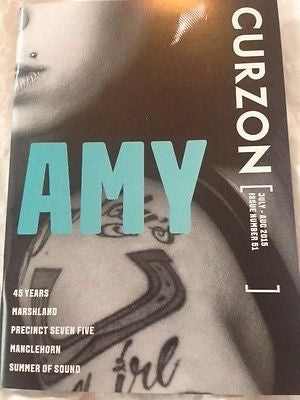 (UK) CURZON MAGAZINE JULY 2015 AMY WINEHOUSE PHOTO COVER SPECIAL BRAND NEW