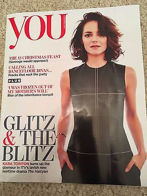 YOU MAGAZINE 12/2016 KARA TOINTON Photo Cover Chloe Pirrie LINDA RODIN Ore Oduba