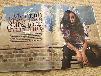 NEW OBSERVER MAGAZINE FEBRUARY 2014 ANGEL HAZE BRIAN COX