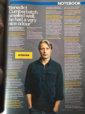 Hannibal MADS MIKKELSEN PHOTO INTERVIEW UK SHORTLIST 2017 Benedict Cumberbatch