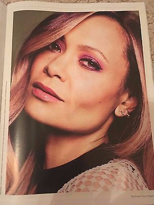 THANDIE NEWTON Photo interview UK MAGAZINE 2017 Tony Bennett Leonora Carrington