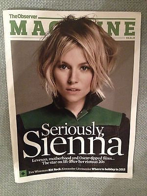 American Sniper SIENNA MILLER PHOTO INTERVIEW 2015 OBSERVER MAGAZINE KID ROCK