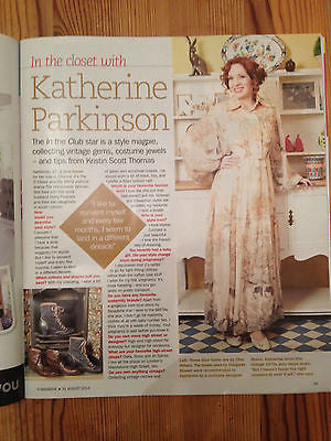 S Express Magazine 2014 - Katherine Parkinson Liz White David Jason Colin Firth