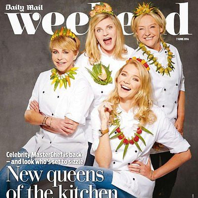 WEEKEND magazine June 2014 AMANDA BURTON Paul Young Michael Sheen Colin Morgan