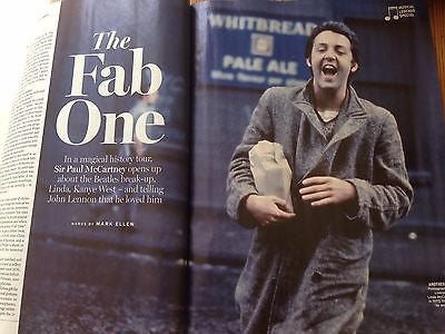 SIR PAUL McCARTNEY - LINDA Radio Times UK magazine 28 May 2016
