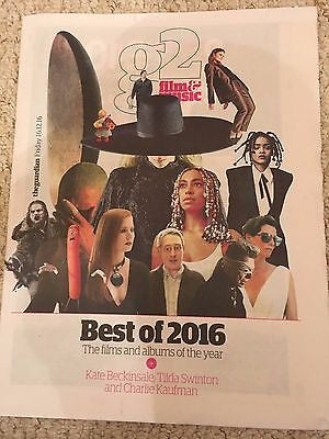 Kate Beckinsale - Tilda Swinton - Lou Reed UK G2 (Guardian) December 2016