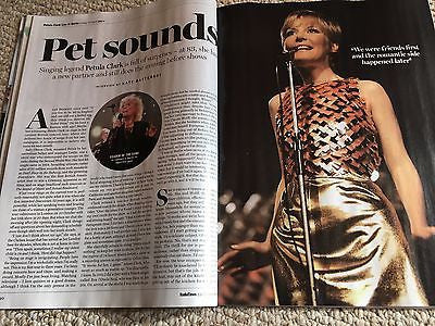 UK Radio Times Magazine 10/2016 PETULA CLARK Anthony Hopkins TOM ELLIS Jude Law