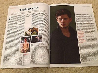 SOPHIE ELLIS BEXTOR interview JEREMY IRVINE UK 1 DAY ISSUE 2013 KRIS MARSHALL