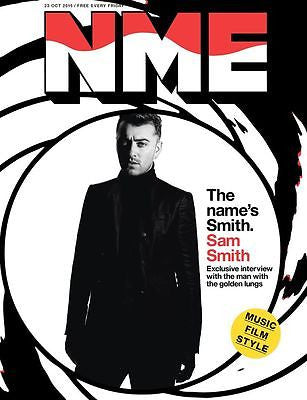 SAM SMITH WORLD EXCLUSIVE UK NME MAGAZINE OCT 2015 RUSSELL HOWARD Joanna Newsom