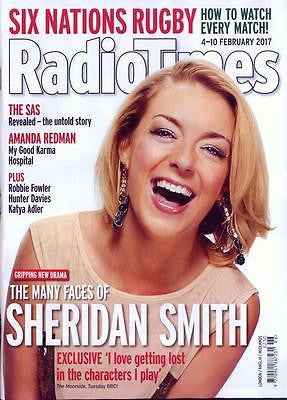 UK RADIO TIMES Magazine 4 Feb 2017 Sheridan Smith Christina Ricci Amanda Redman
