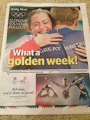 RIO 2016 GLORIOUS SOUVENIR JACK LAUGHER ADAM PEATY MICHAEL PHELPS AMY WINKLE
