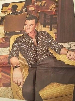 Dracula LUKE EVANS PHOTO INTERVIEW UK TELEGRAPH October 2016 NEW