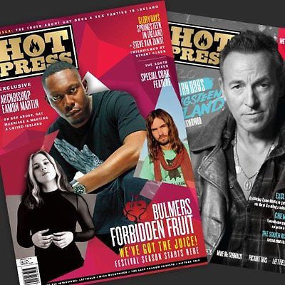 BRUCE SPRINGSTEEN Photo Cover Special UK Hot Press MAGAZINE MAY 2016 NEW
