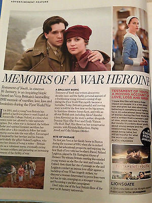 DAVINA MCCALL PHOTO COVER INTERVIEW YOU MAGAZINE JANUARY 2015 KIT HARINGTON