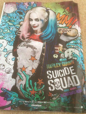 Suicide Squad JARED LETO PHOTO COVER NME MAGAZINE August 2016 Harley Quinn