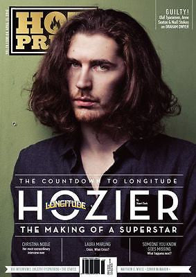 HOZIER - THE MAKING OF A SUPERSTAR Photo Cover HOT PRESS MAGAZINE 2015