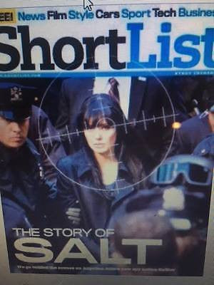 Shortlist Magazine August 2010 Angelina Jolie Philip Glenister Ray Manzarek